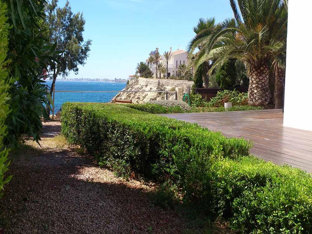 Jardín Litoral Sur, Coveta fumà, Alicante - (entreverde)