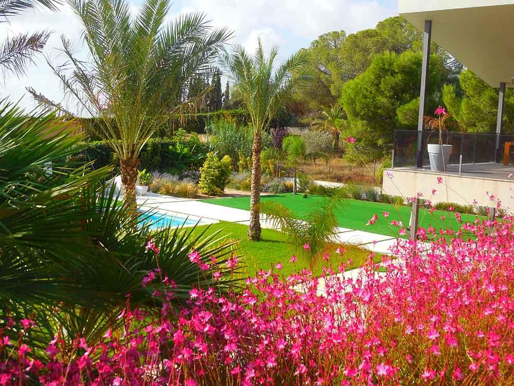 Jardín Subtropical en Elche, Alicante - (entreverde)